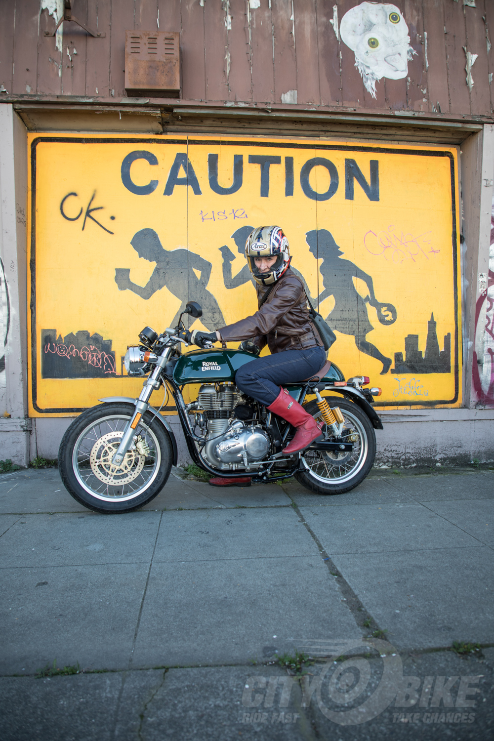British Racing Green with Envy: Royal Enfield Continental GT