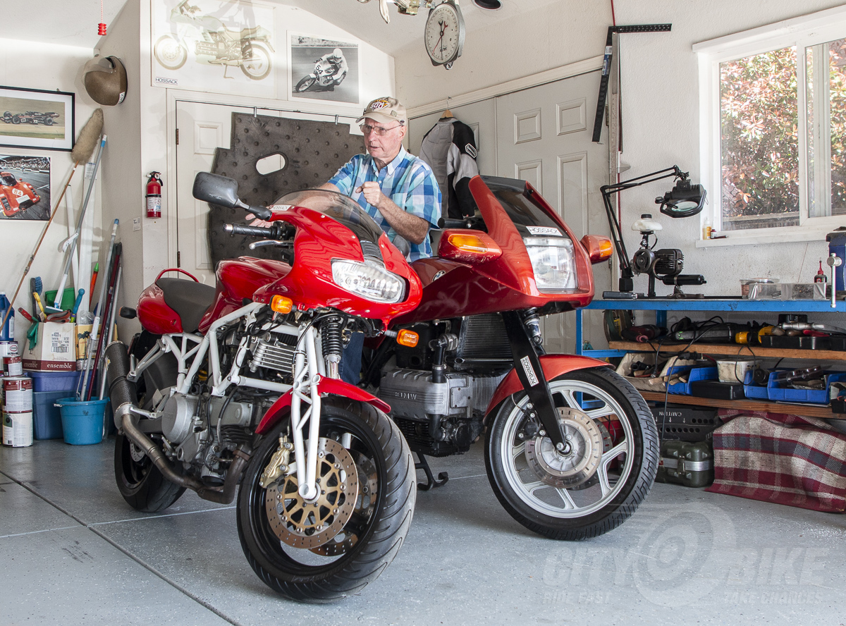 Talking Suspension with the Legendary Norman Hossack | CityBike Magazine