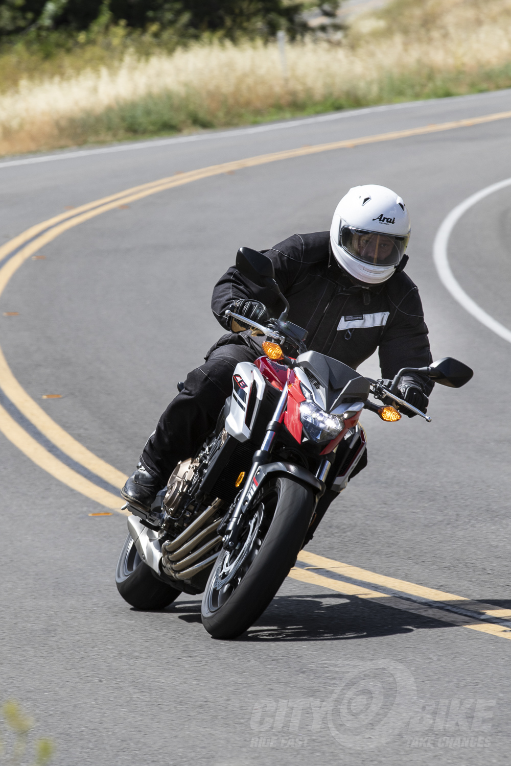 Four Cylinders to Freedom: 2018 Honda CB650F ABS | CityBike