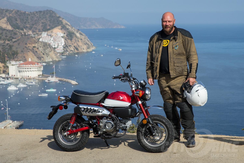 Catalina Moto Mixer Honda Monkey First Ride Citybike Magazine