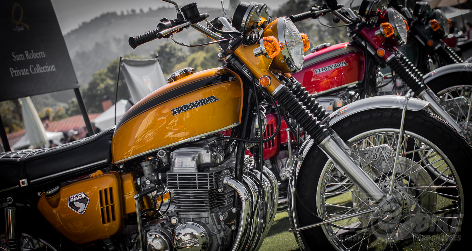 2019 Quail Motorcycle Gathering. Photo: Angelica Rubalcaba.